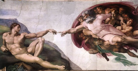 Michelangelo-Adam