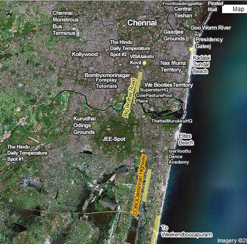 Chennai-map