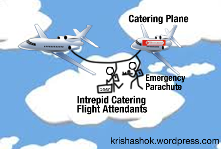 Hotel Saravana Bhavan is the prefect candidate to run all catering planes. Their 14 mini-idlis can take the edge off any bawling Indian baby aboard economy class